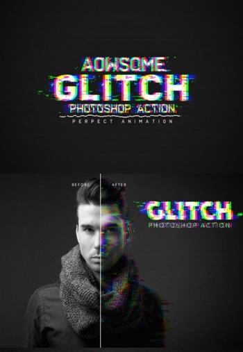 awsome-glitch-ps-action