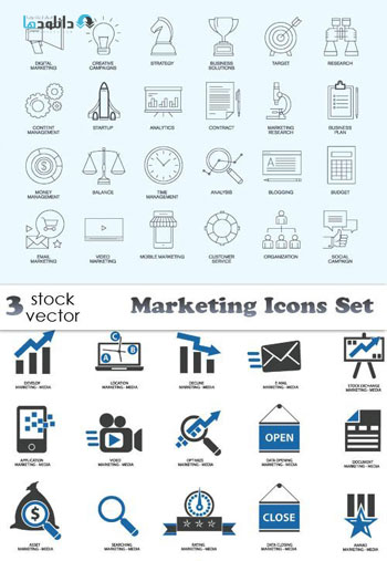 marketing-icon-set