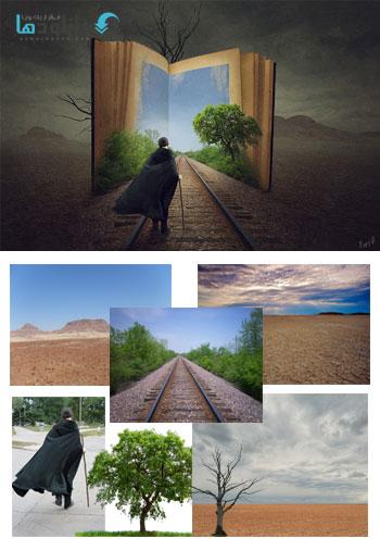Journey Book Photoshop manipulation Tutorial