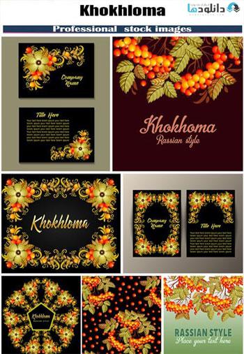 Khokhloma-Russian-style-background