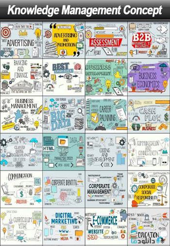 Knowledge-Management-Concept