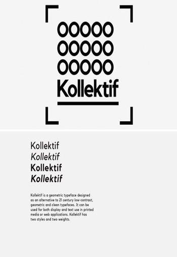 Kollektif-font