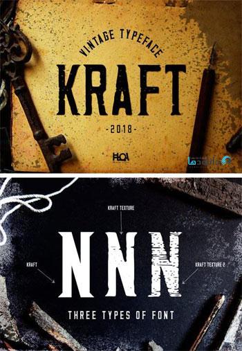 Kraft---Vintage-Typeface