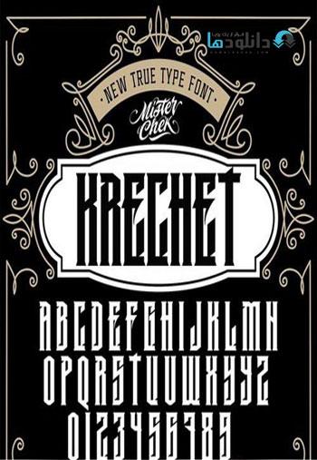Krechet-font