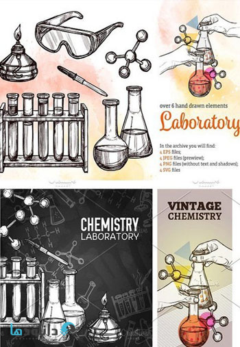 Laboratory-Sketch-Set