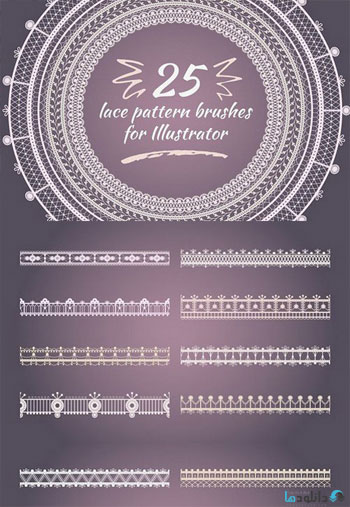 Lace-pattern-brushes-for-Illustrator