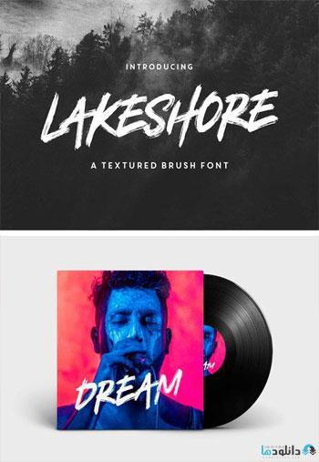 Lakeshore-Brush-Font