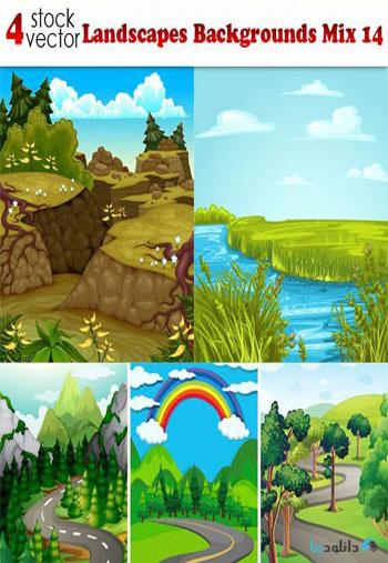 Landscapes-Backgrounds