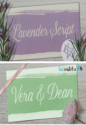 Lavender-Script-Font