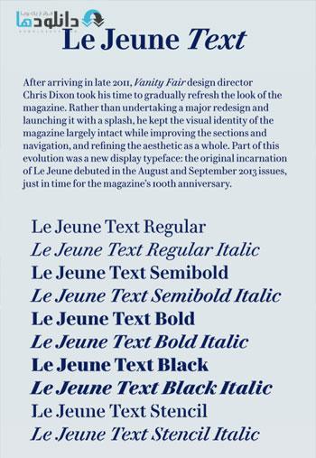 Le-Jeune-Text-Font-Family