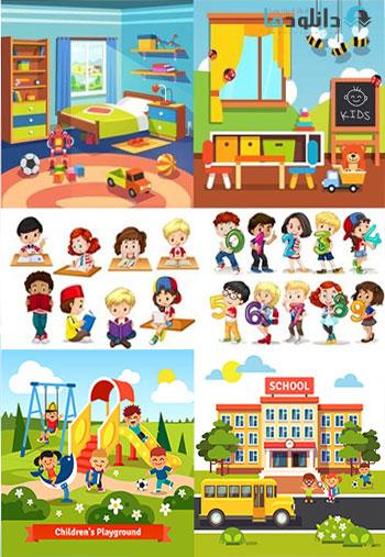 Learning-Children-Vector