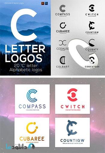 Letter-Alphabetic-Logos-c