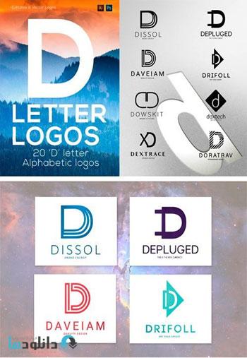 Letter-Alphabetic-LogosD