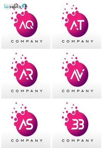 Letter-dots-logo-design