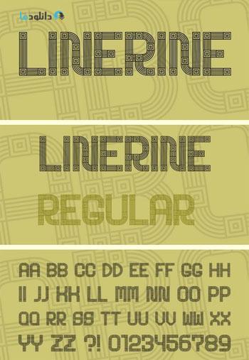 Linerine-Font