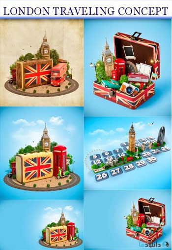 London-traveling-concept