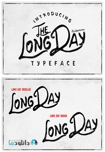 Long-Day-Typeface
