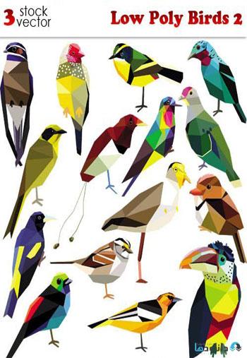 Low-Poly-Birds