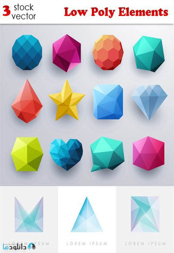 Low-Poly-Elements