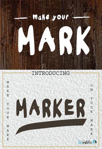 MAKE-YOUR-MARK-Font