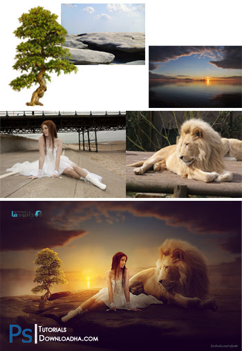 Making-Girl-&-Lion-Photo