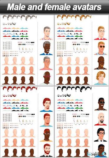 Male-and-female-avatars
