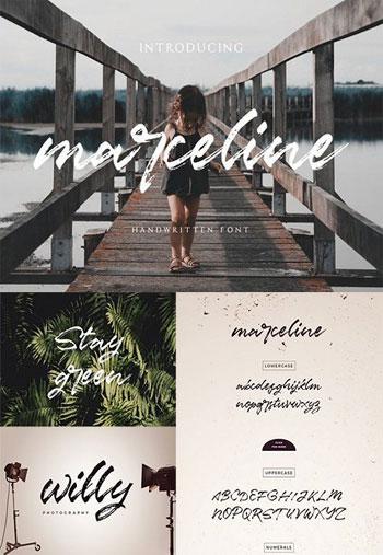 Marceline-Script-Font