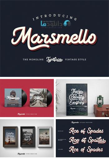 Marsmello-Typeface
