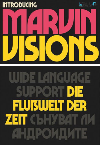 Marvin-Visions-Font