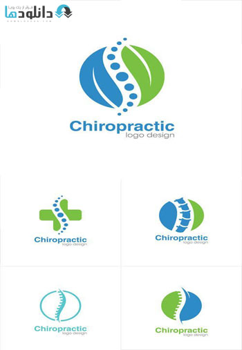Medical-Chiropractic-Creative-Concept-Logo-Design-Template