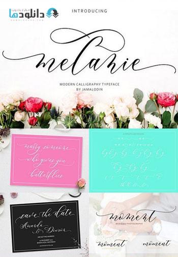 Melanie-Script-Font