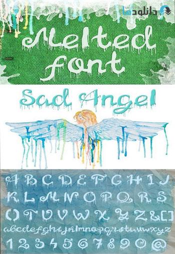 Melted-font