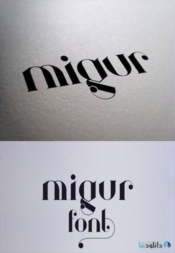 Migur-Font