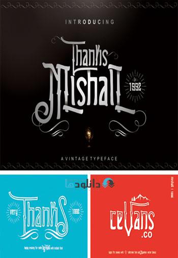 Mishall-Typeface