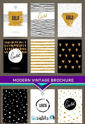 Modern-Vintage-brochure-Vector