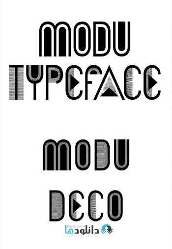 Modu-Font