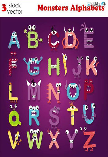 Monsters-Alphabets