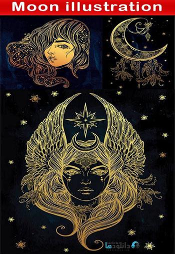 Moon-illustration
