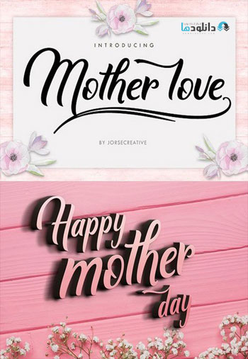 Mother-lovet-Font