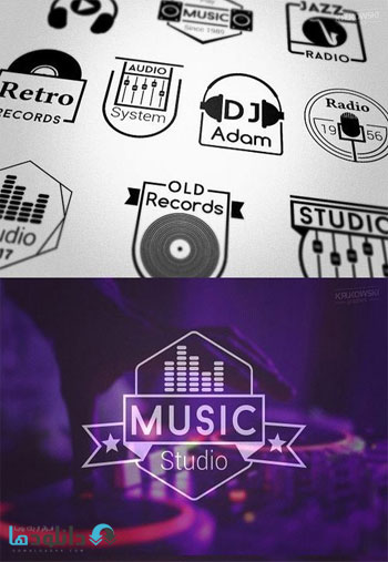 Music-Audio-Badges-Logos