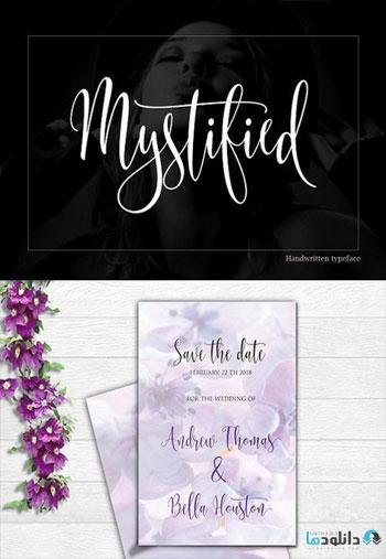 Mystified-Font
