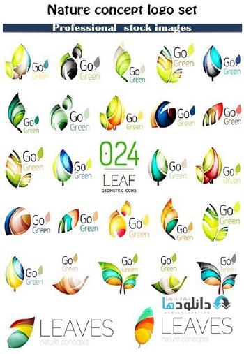 Nature-concept-logo-set-Ico