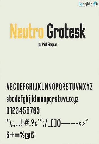 Neutro-Grotesk