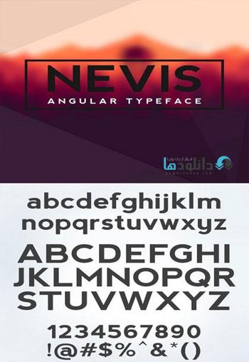 Nevis-Bold-Font