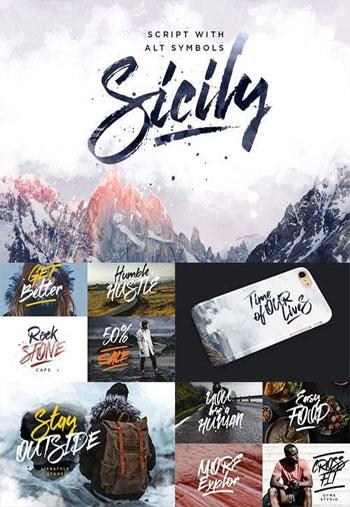 New.-Sicily-Script-Font