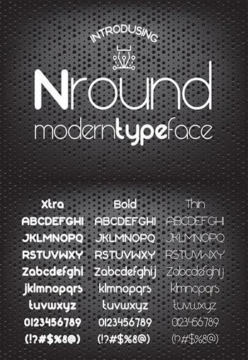Nround-font