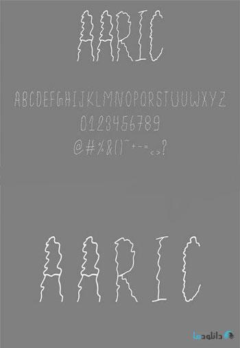 Aaric-font
