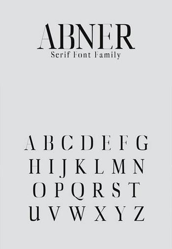 Abner-Serif-Font-Family