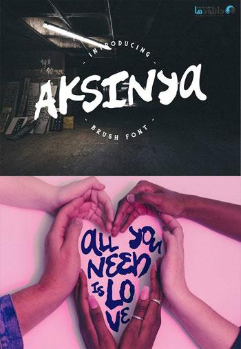 Aksinya-Font