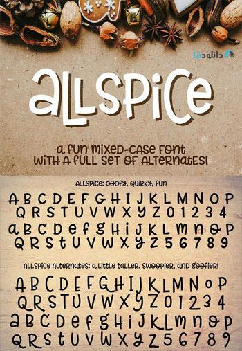 Allspice-fon